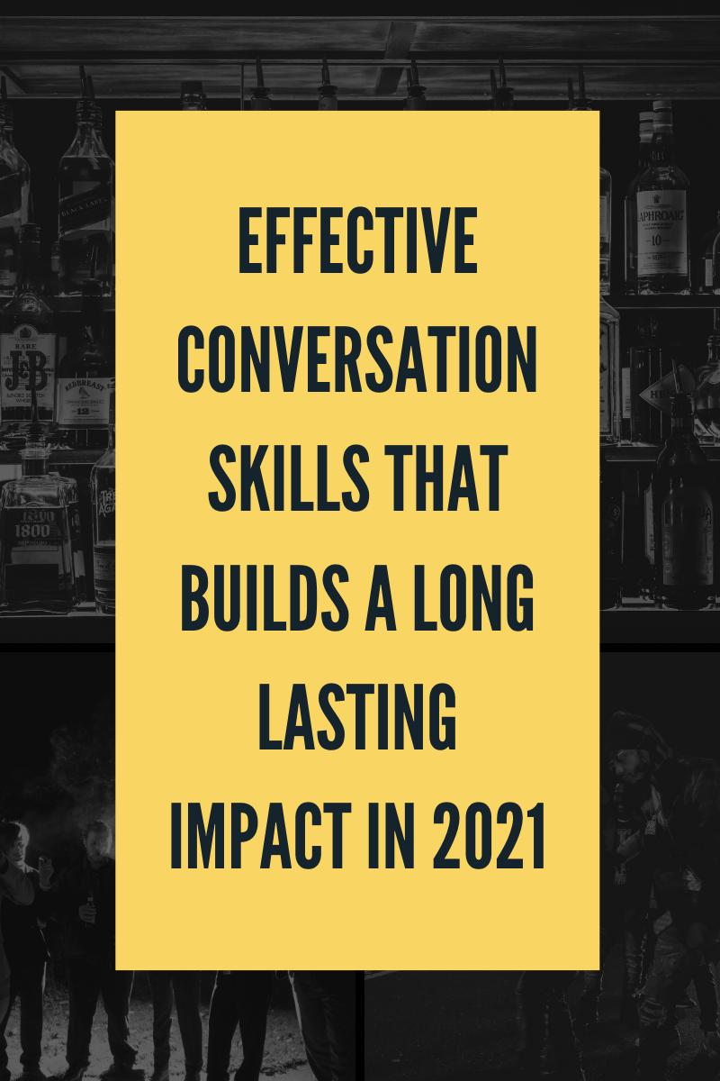 effective conversation skills